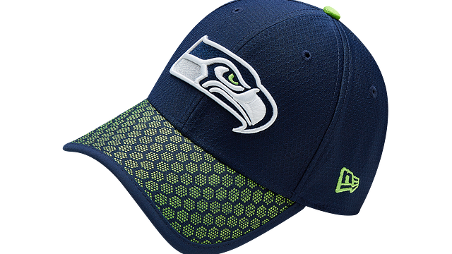SEATTLE SEAHAWKS OFFICIAL SIDELINE 39THIRTY STRETCH FIT