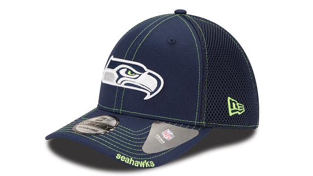 SEATTLE SEAHAWKS NEO 39THIRTY STRETCH FIT