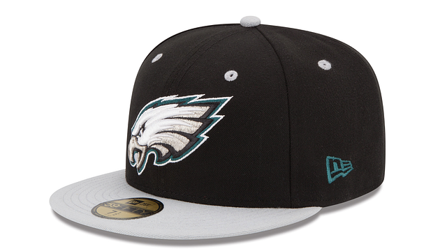 PHILADELPHIA EAGLES 2TONE 59FIFTY FITTED