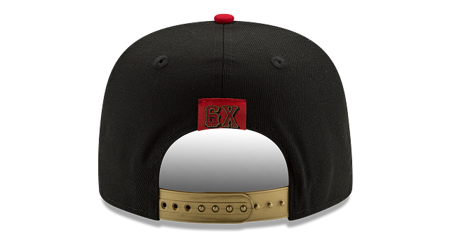 CHICAGO BULLS GOLD FLIP 9FIFTY SNAPBACK