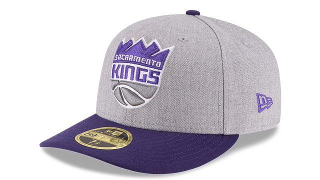 SACRAMENTO KINGS HEATHER LOW PROFILE 59FIFTY FITTED
