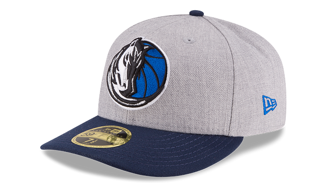 DALLAS MAVERICKS HEATHER LOW PROFILE 59FIFTY FITTED