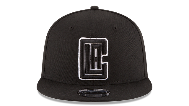 LOS ANGELES CLIPPERS BASIC BLACK 9FIFTY SNAPBACK