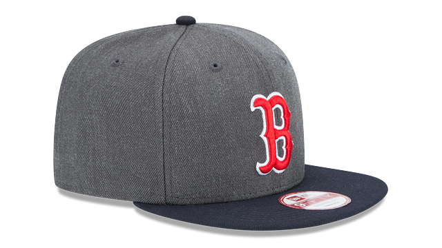BOSTON RED SOX GRAPHITE 9FIFTY SNAPBACK