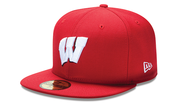 WISCONSIN BADGERS BASIC 59FIFTY FITTED