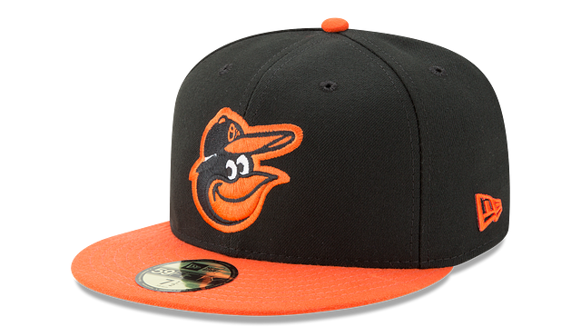 BALTIMORE ORIOLES AUTHENTIC COLLECTION 59FIFTY FITTED