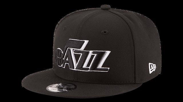UTAH JAZZ BASIC BLACK 9FIFTY SNAPBACK