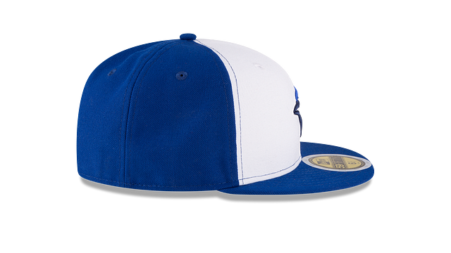 KIDS TORONTO BLUE JAYS AUTHENTIC COLLECTION 59FIFTY FITTED