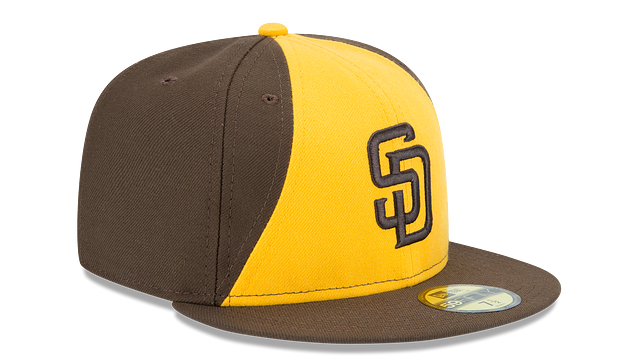 KIDS SAN DIEGO PADRES AUTHENTIC COLLECTION 59FIFTY FITTED