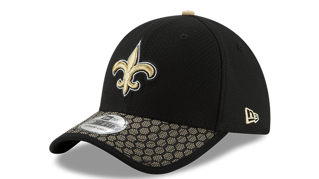 NEW ORLEANS SAINTS OFFICIAL SIDELINE 39THIRTY STRETCH FIT