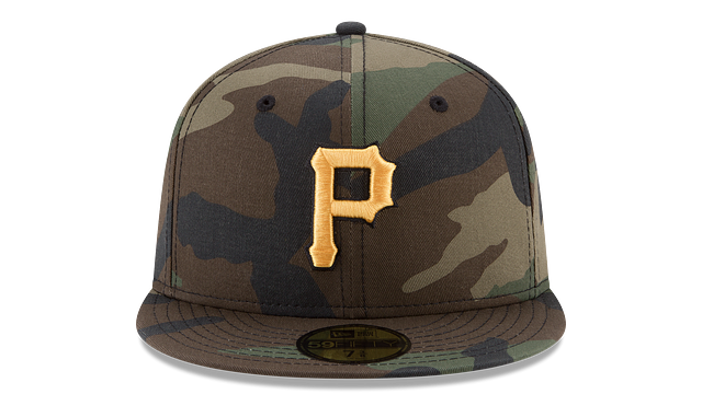 PITTSBURGH PIRATES CAMO 59FIFTY FITTED
