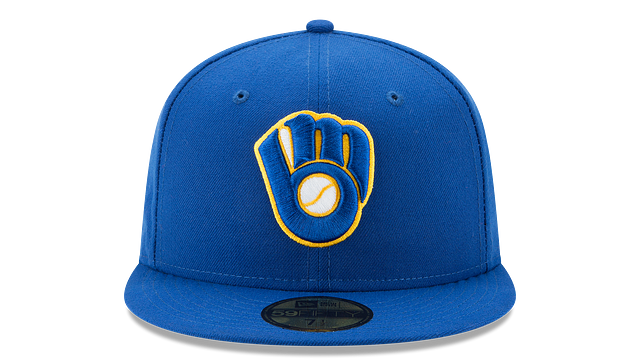 MILWAUKEE BREWERS AUTHENTIC COLLECTION 59FIFTY FITTED