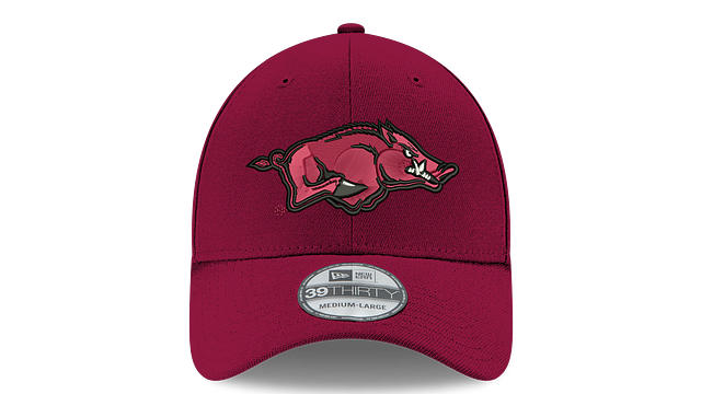 ARKANSAS RAZORBACKS TEAM CLASSIC 39THIRTY STRETCH FIT