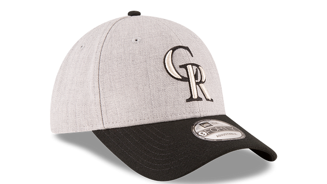 COLORADO ROCKIES HEATHER 9FORTY ADJUSTABLE 3 quarter right view
