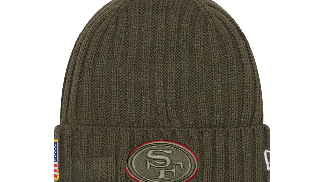 SAN FRANCISCO 49ERS SALUTE TO SERVICE KNIT