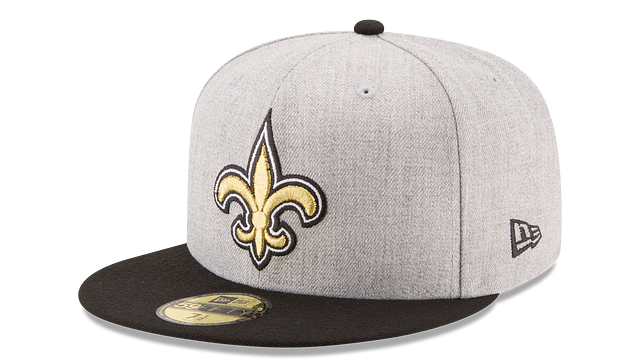 KIDS NEW ORLEANS SAINTS HEATHER ACTION 59FIFTY FITTED