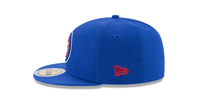 KIDS DETROIT PISTONS TEAM COLOR 59FIFTY FITTED