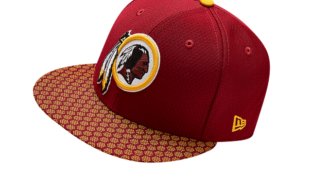 WASHINGTON REDSKINS OFFICIAL SIDELINE 59FIFTY FITTED