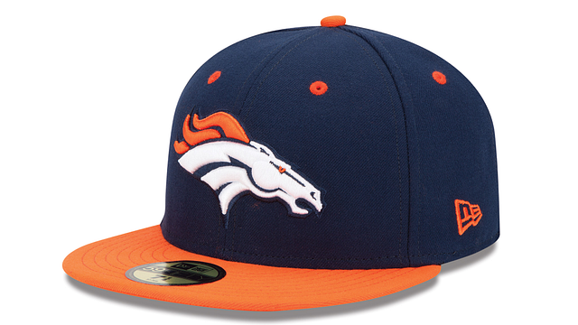 DENVER BRONCOS 2TONE 59FIFTY FITTED