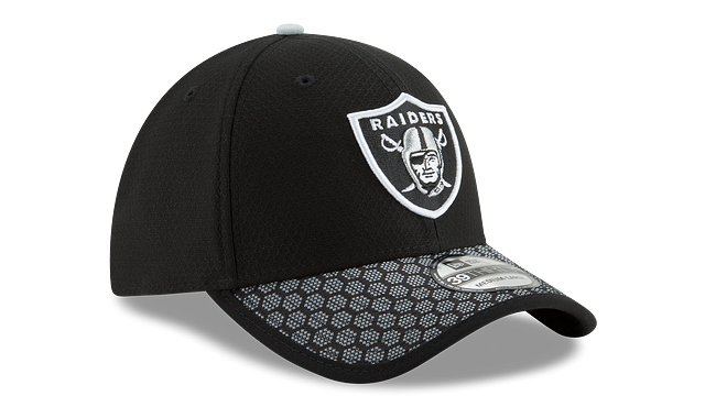 OAKLAND RAIDERS OFFICIAL SIDELINE 39THIRTY STRETCH FIT