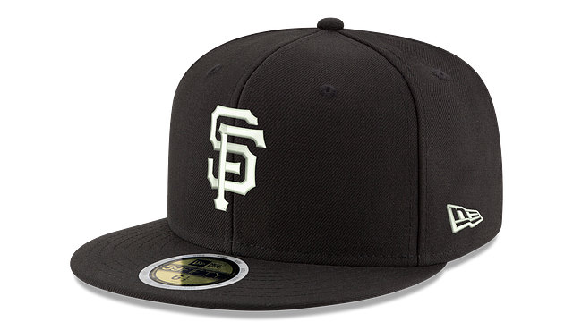 KIDS SAN FRANCISCO GIANTS BLACK & WHITE 59FIFTY FITTED