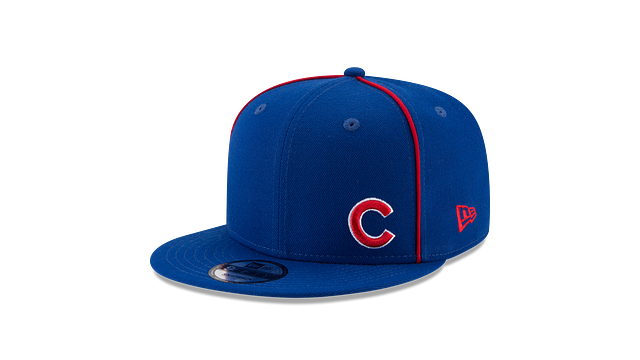 CHICAGO CUBS Y2K FLAWLESS 9FIFTY SNAPBACK 3 quarter left view