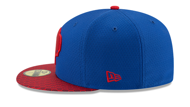 BUFFALO BILLS OFFICIAL SIDELINE 59FIFTY FITTED