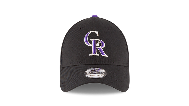 KIDS COLORADO ROCKIES TEAM CLASSIC 39THIRTY STRETCH FIT Front view