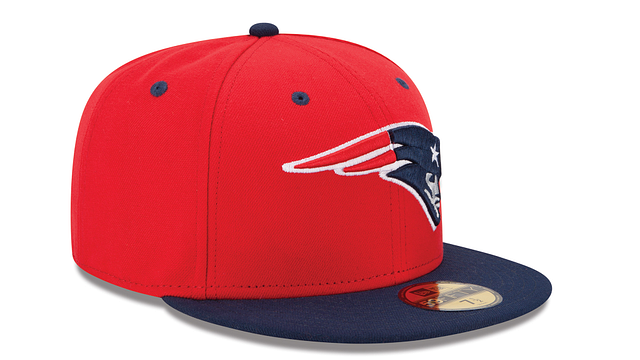 NEW ENGLAND PATRIOTS 2TONE 59FIFTY FITTED