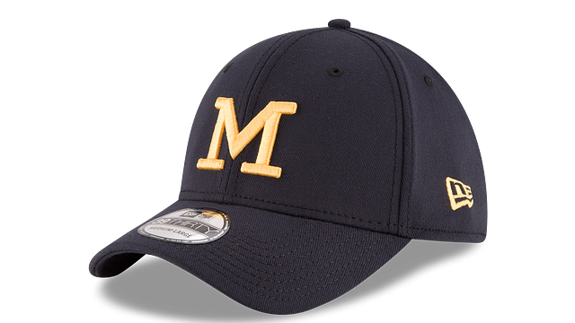 MICHIGAN WOLVERINES TEAM CLASSIC 39THIRTY STRETCH FIT