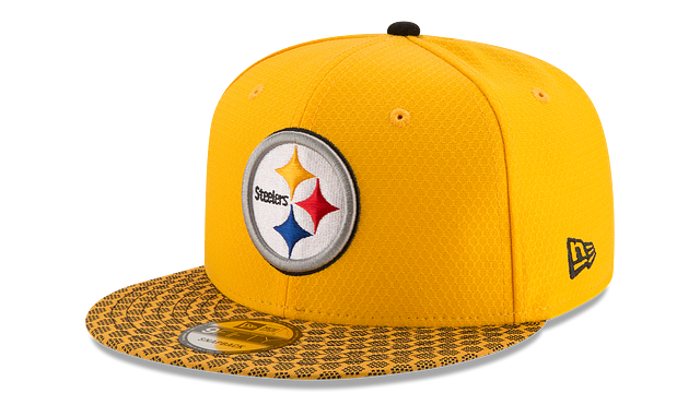 PITTSBURGH STEELERS OFFICIAL SIDELINE 9FIFTY SNAPBACK