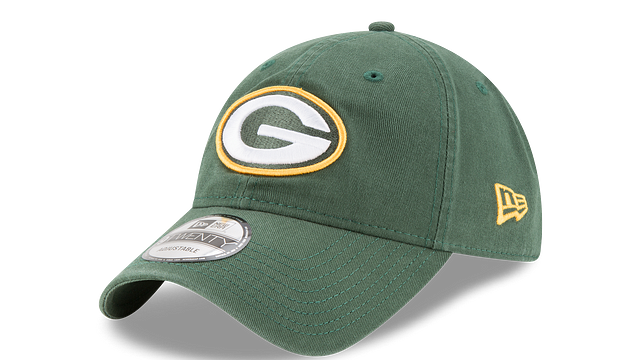 GREEN BAY PACKERS CORE CLASSIC 9TWENTY ADJUSTABLE