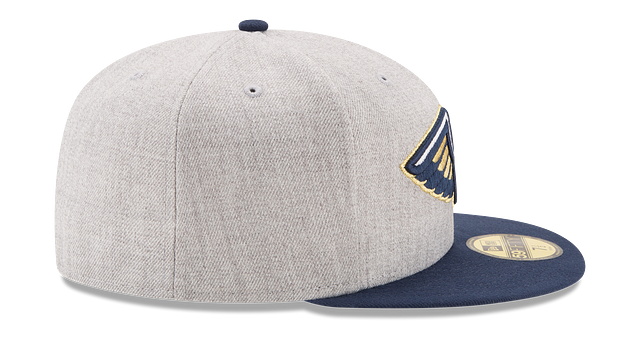NEW ORLEANS PELICANS HEATHER ACTION 59FIFTY FITTED
