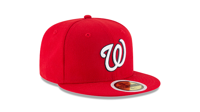 KIDS WASHINGTON NATIONALS AUTHENTIC COLLECTION 59FIFTY FITTED