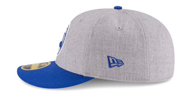 PHILADELPHIA 76ERS HEATHER LOW PROFILE 59FIFTY FITTED
