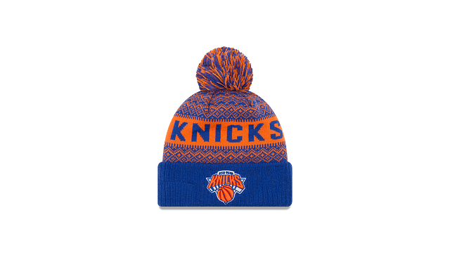 NEW YORK KNICKS WINTRY POM KNIT Front view