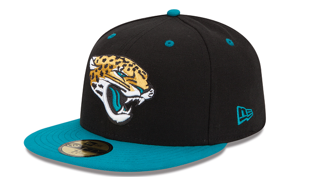 JACKSONVILLE JAGUARS 2TONE 59FIFTY FITTED