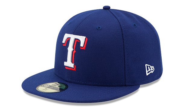KIDS TEXAS RANGERS AUTHENTIC COLLECTION 59FIFTY FITTED