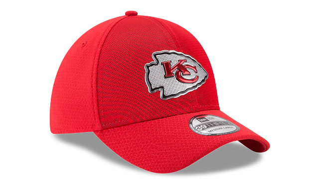 KANSAS CITY CHIEFS COLOR RUSH 39THIRTY STRETCH FIT