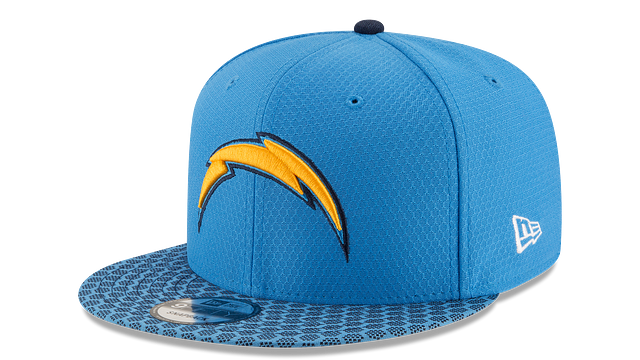 LOS ANGELES CHARGERS OFFICIAL SIDELINE 9FIFTY SNAPBACK