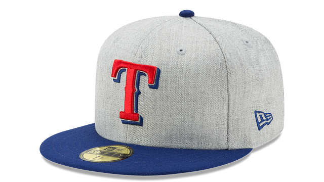 TEXAS RANGERS HEATHER ACTION 59FIFTY FITTED