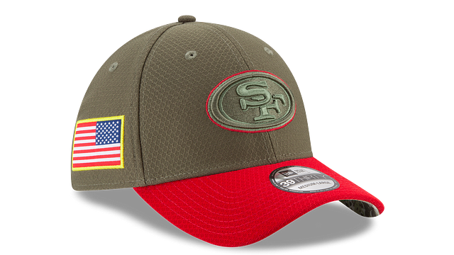 SAN FRANCISCO 49ERS SALUTE TO SERVICE 39THIRTY STRETCH FIT