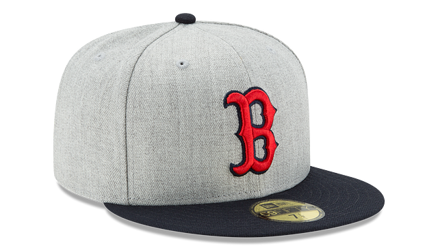 BOSTON RED SOX HEATHER ACTION 59FIFTY FITTED