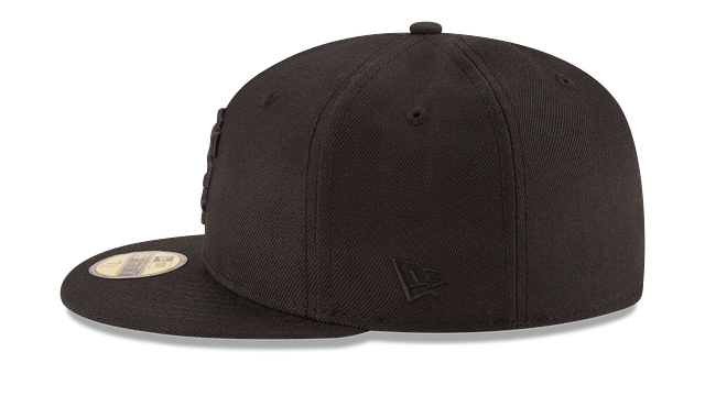 SAN FRANCISCO GIANTS BLACK ON BLACK 59FIFTY FITTED