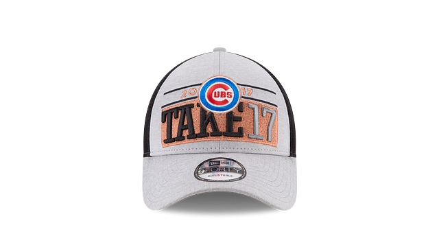 CHICAGO CUBS OFFICIAL NLDS CHAMPIONS 9FORTY ADJUSTABLE Front view