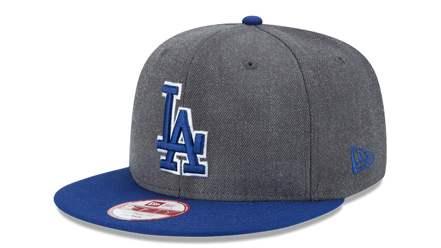 LOS ANGELES DODGERS GRAPHITE 9FIFTY SNAPBACK