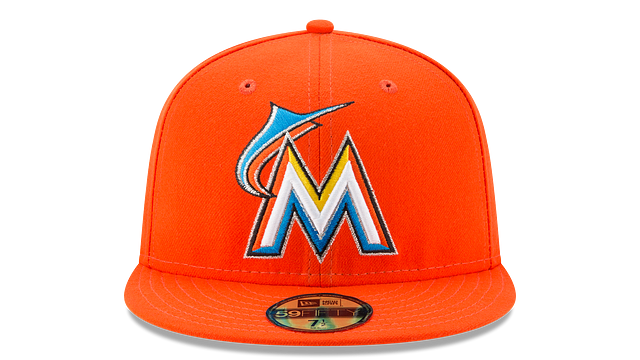 MIAMI MARLINS AUTHENTIC COLLECTION 59FIFTY FITTED