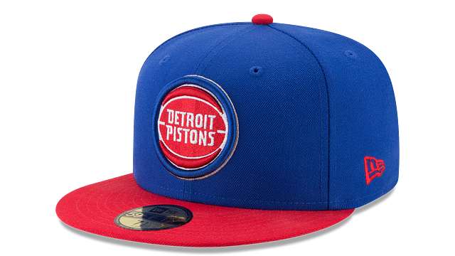 DETROIT PISTONS 2TONE 59FIFTY FITTED