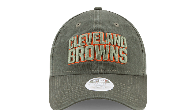 WOMENS CLEVELAND BROWNS SALUTE TO SERVICE 9TWENTY ADJUSTABLE