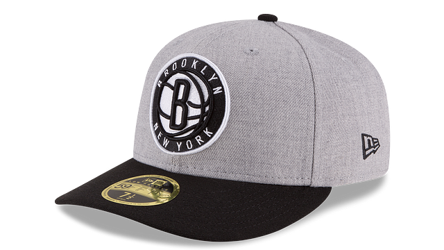 BROOKLYN NETS HEATHER LOW PROFILE 59FIFTY FITTED